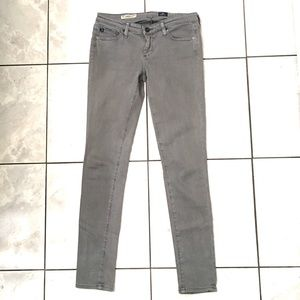 Adriano Goldschmied Womans Gray Super Skinny Jeans